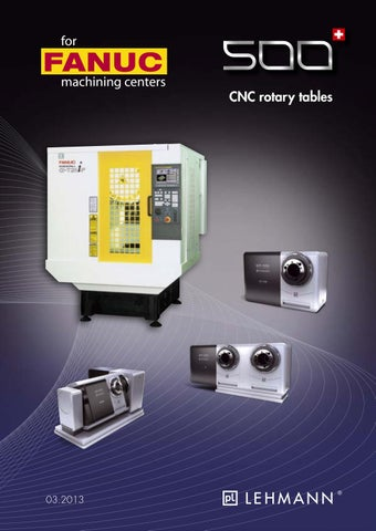 for CNC rotary tables on FANUC machines by pL Lehmann - issuu