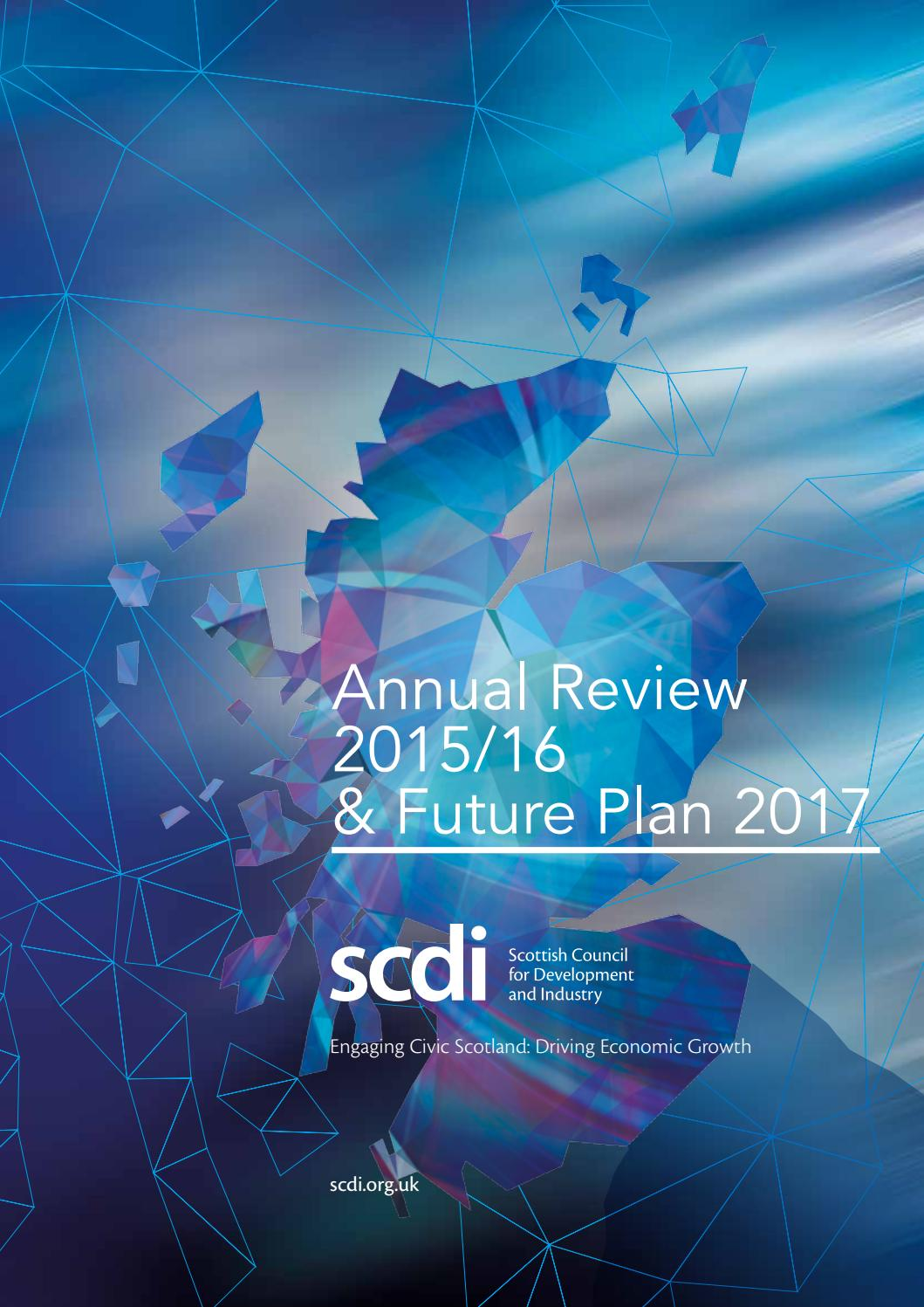 Scdi annual review 15 16 future plan 2017 by scdi issuu malvernweather Choice Image