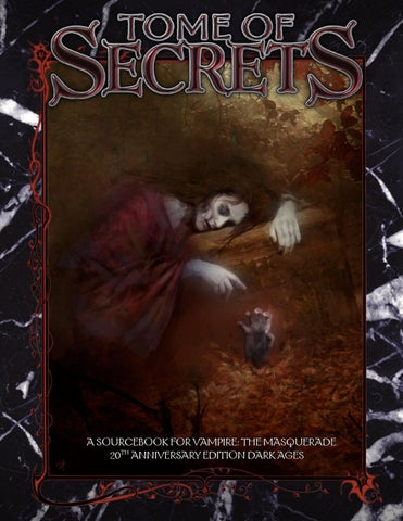 V20 dark ages tome of secrets by V20 Dark Ages: The Abyss Gazes Back