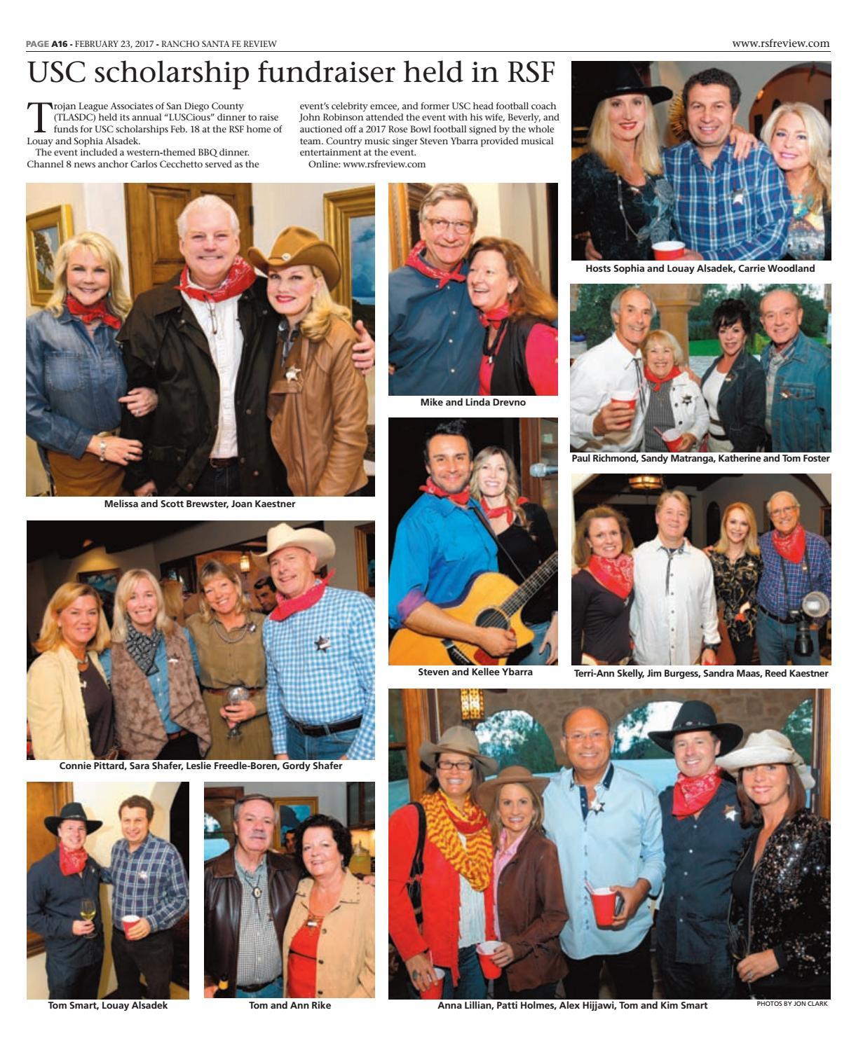Rancho santa fe review 02 23 17 by MainStreet Media - issuu