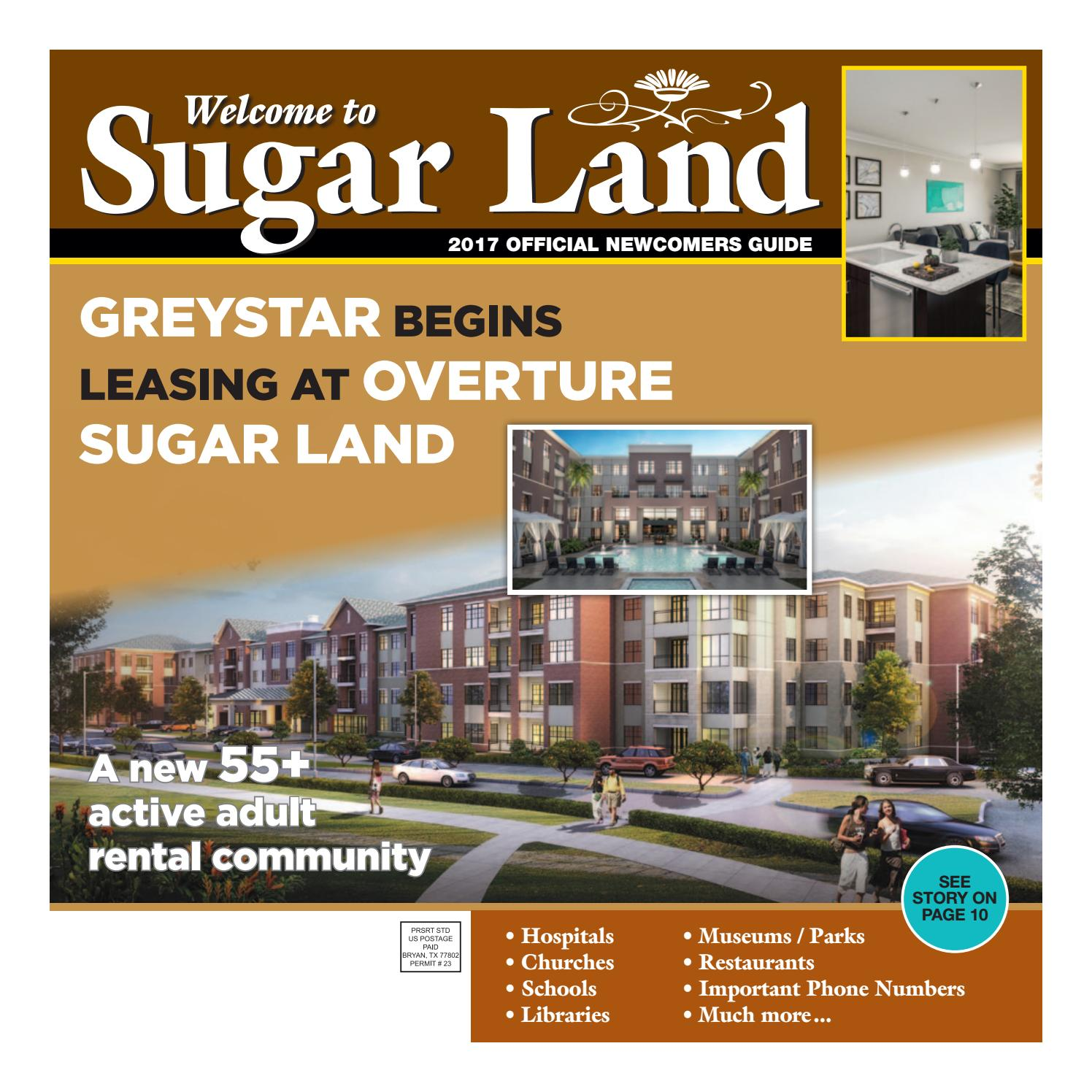 2017 ISSUE - Sugar Land Newcomers Guide by Sugar Land