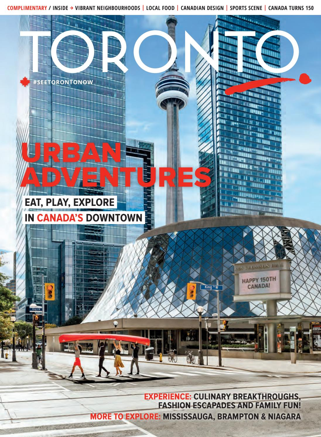 2017 Toronto Magazine By Tourism Toronto