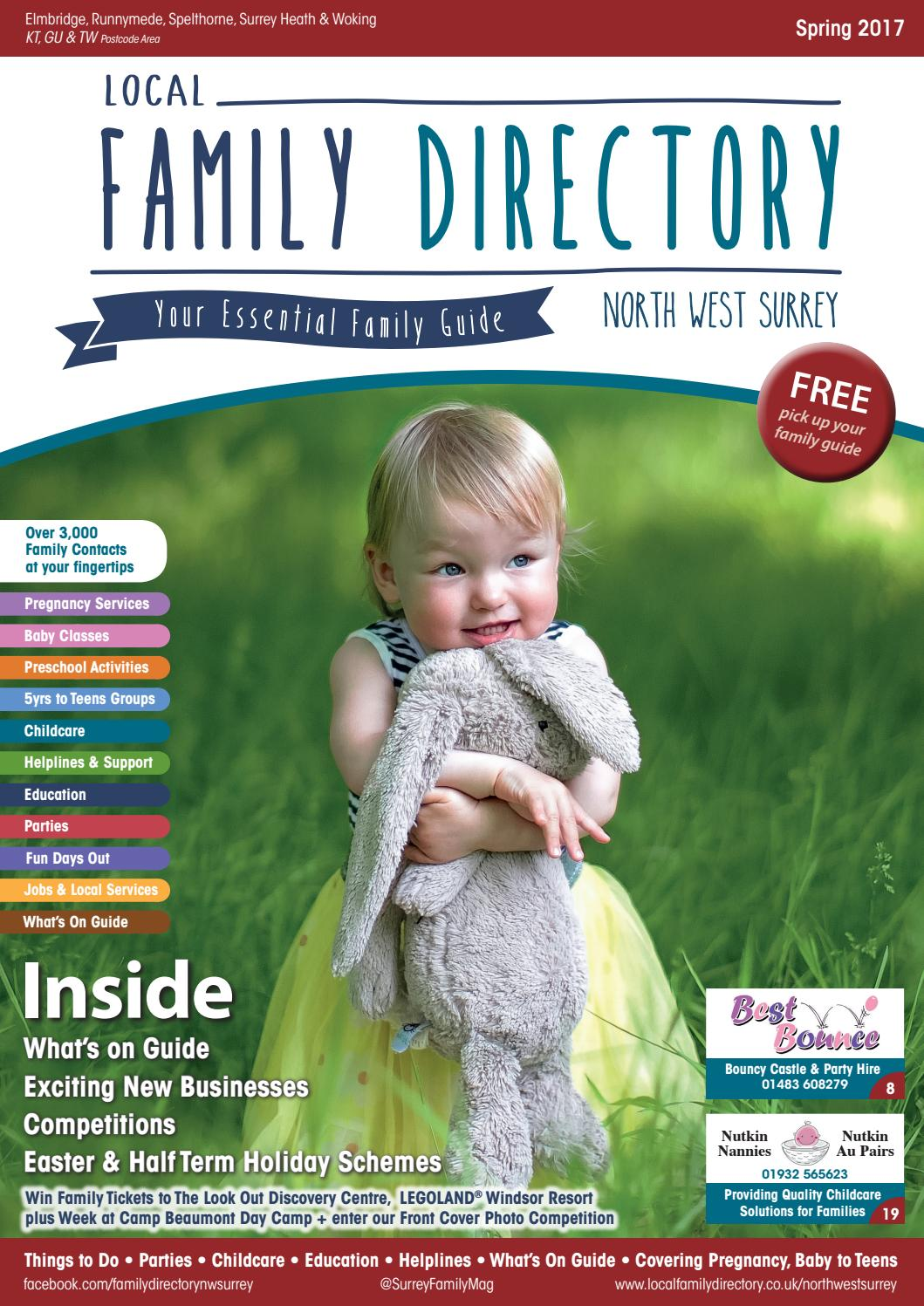 Local Family Directory North West Surrey Spring March   July 21 ...