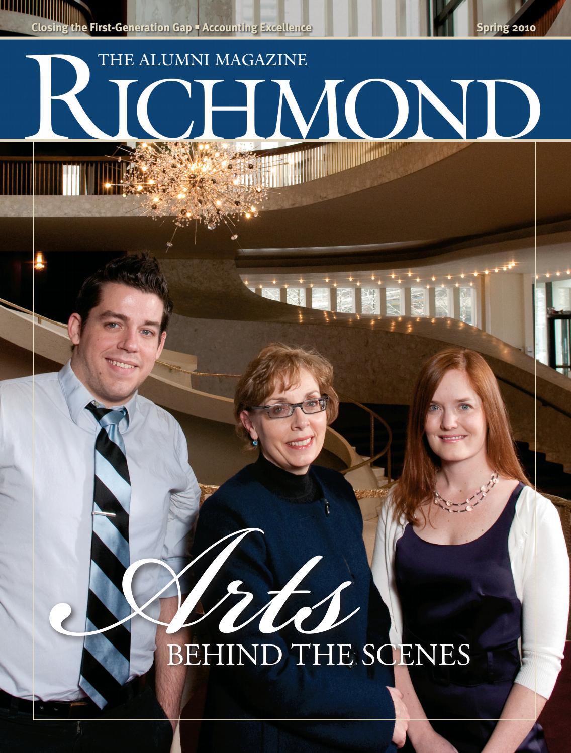 University of Richmond Magazine Spring 2010 by UR Scholarship