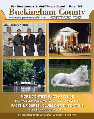 Buckingham County Guide 2017 By Dan Curran Issuu