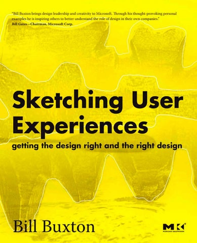 dc58fcd756 Sketching user experiences Bill Buxton by Mario Badilla - issuu