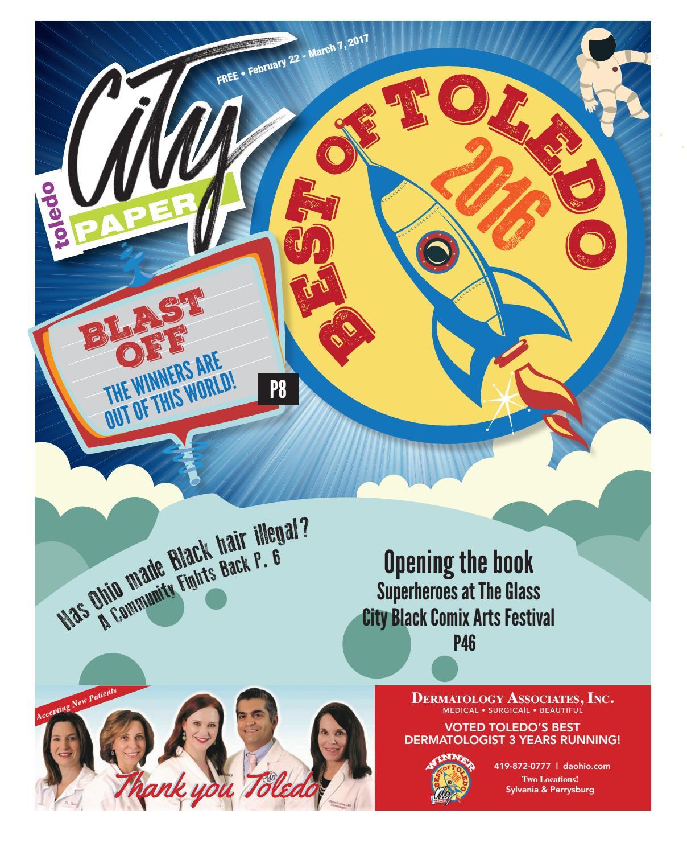 2/22 - Winners for Best of Toledo by Adams Street Publishing