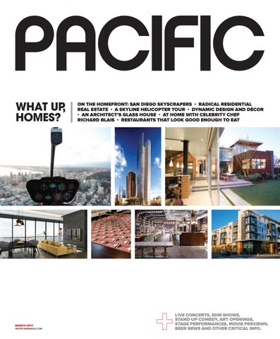 PACIFIC San Diego Magazine March 48 By Pacific San Diego Magazine Inspiration Pacific Home Remodeling San Diego Minimalist Property