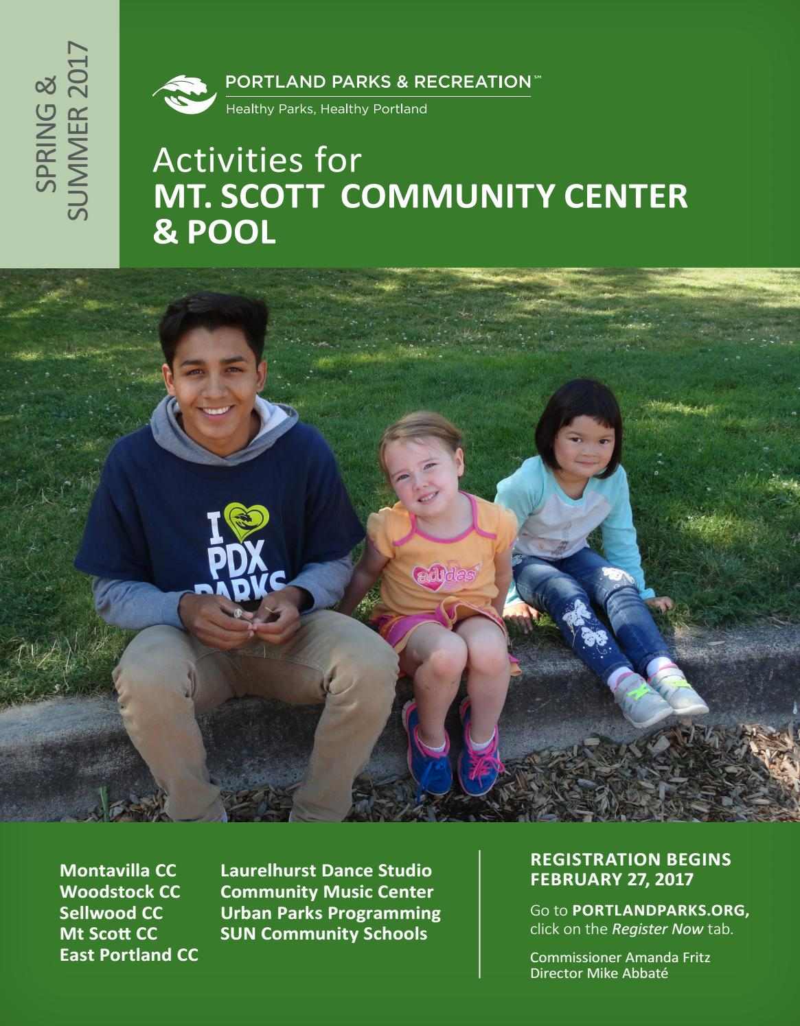 Mt Scott Community Center Spring Summer 2017 By Portland Parks Step 3 Weaving The Relay Modules With Dancing Lights Recreation Issuu