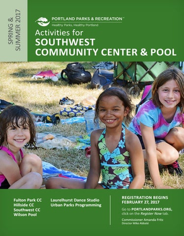 d94de81ffe6d Southwest Community Center - Spring Summer 2017 by Portland Parks ...