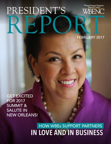 Wbenc Presidents Report February 2017 By Wbenc Issuu