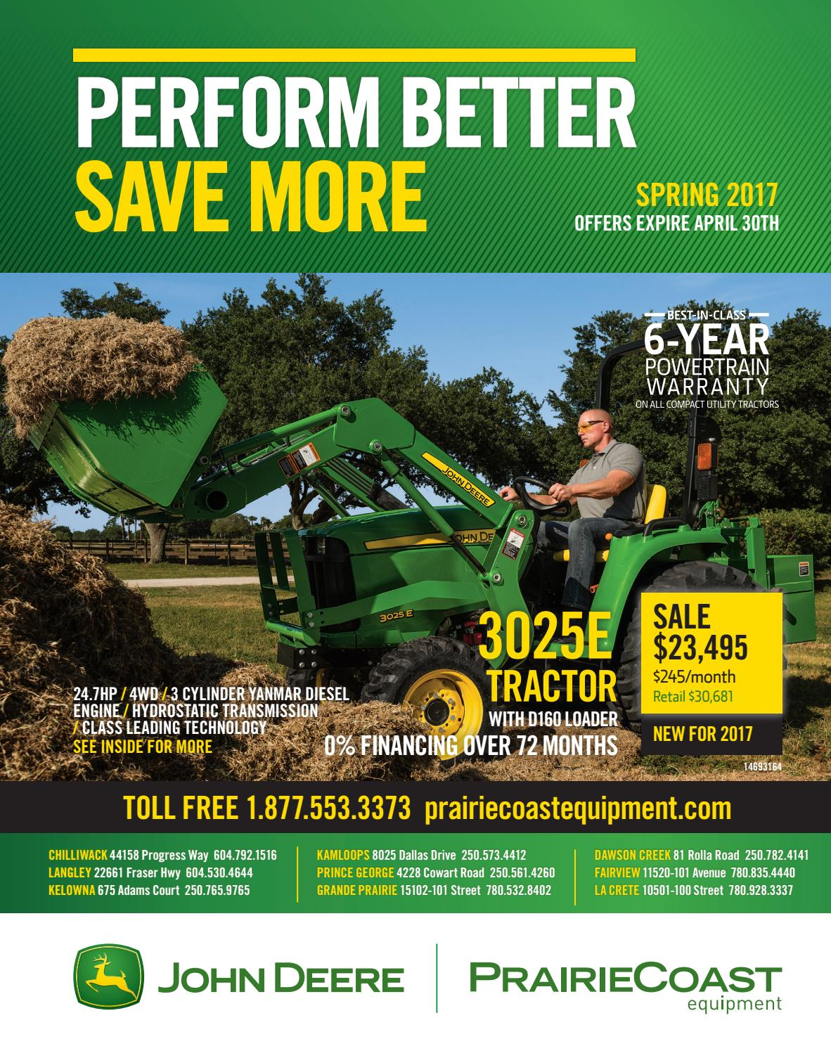 Spring Equipment Flyer by PrairieCoast equipment - issuu