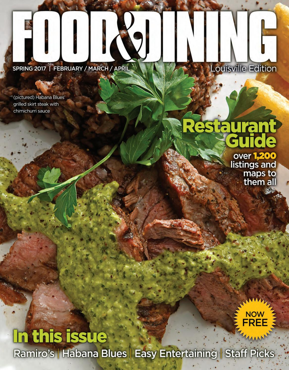 Spring 2017 Vol 55 By Food Dining Magazine Issuu