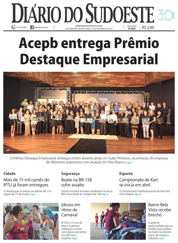 de36ceac573 Diário do sudoeste 23 de fevereiro de 2017 ed 6833 by Diário do Sudoeste -  issuu
