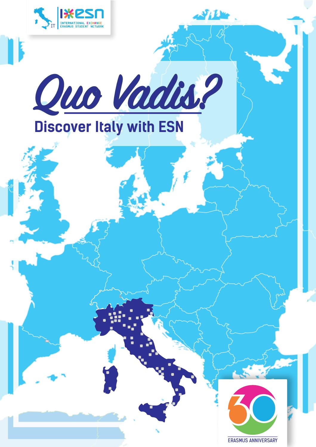 QUO VADIS? - Discover Italy with ESN by ESN Italia - issuu