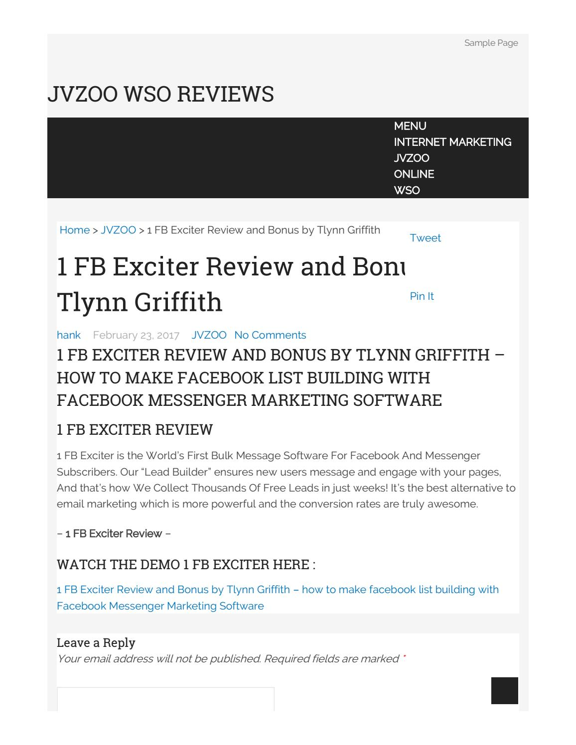 1 fb exciter review and bonuses by zipper fany issuu