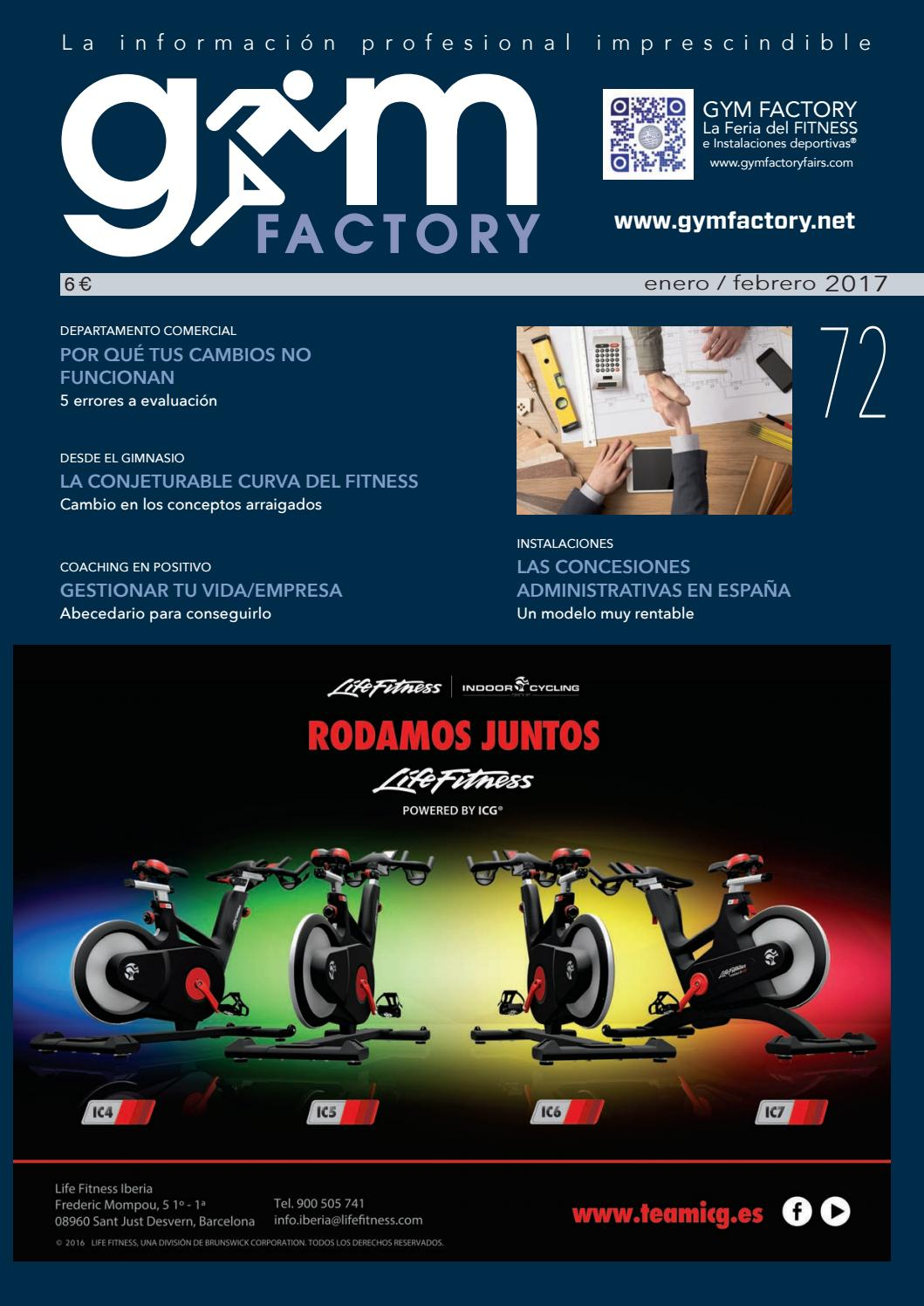 3d036cefed831 Gestion 72 by Gym Factory Magazine - issuu