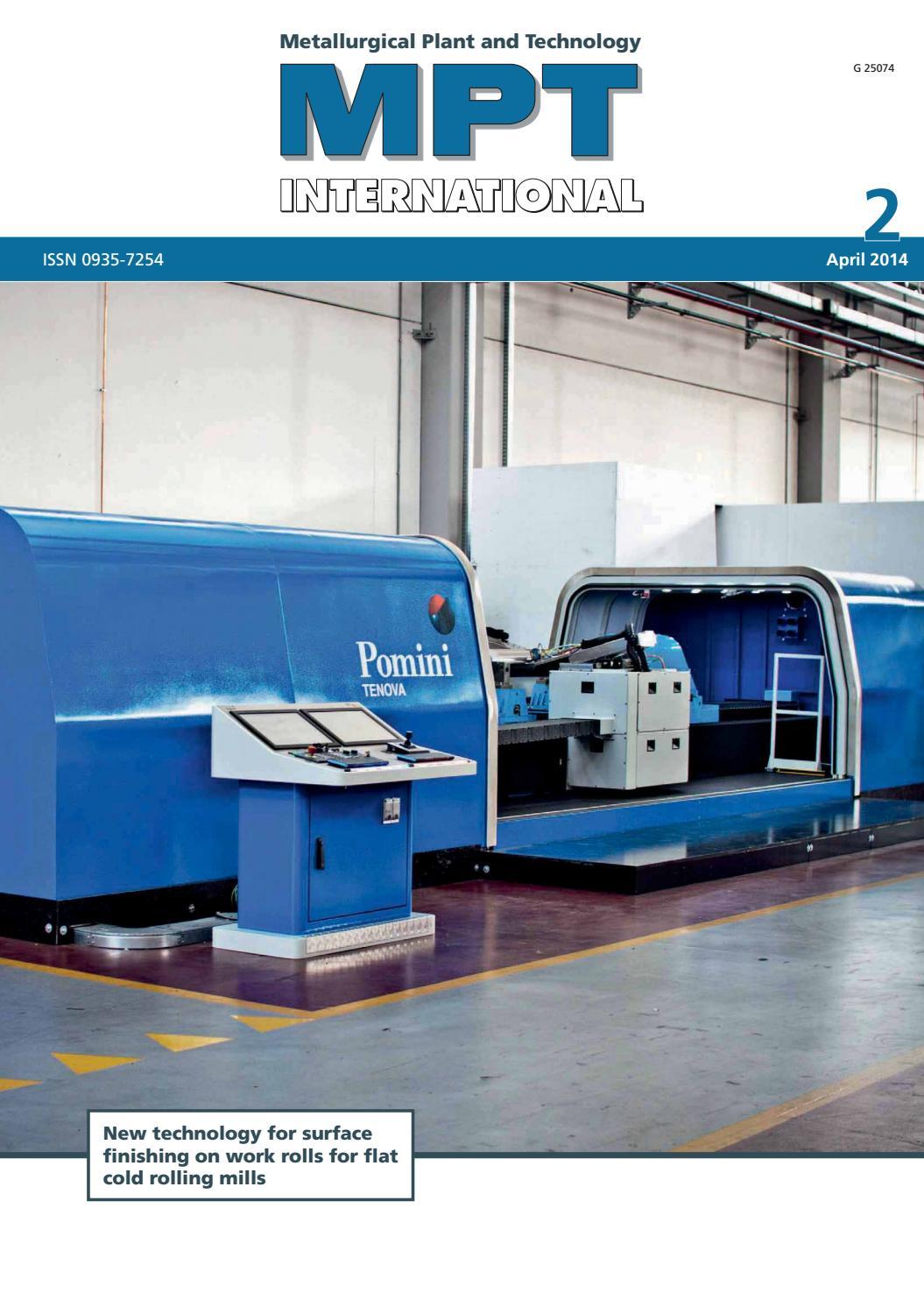 MPT International 2/2014 (Apr) by MPT Metallurgical Plant