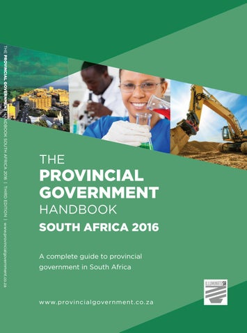 Provincial Government Handbook - South Africa 2016 by Yes