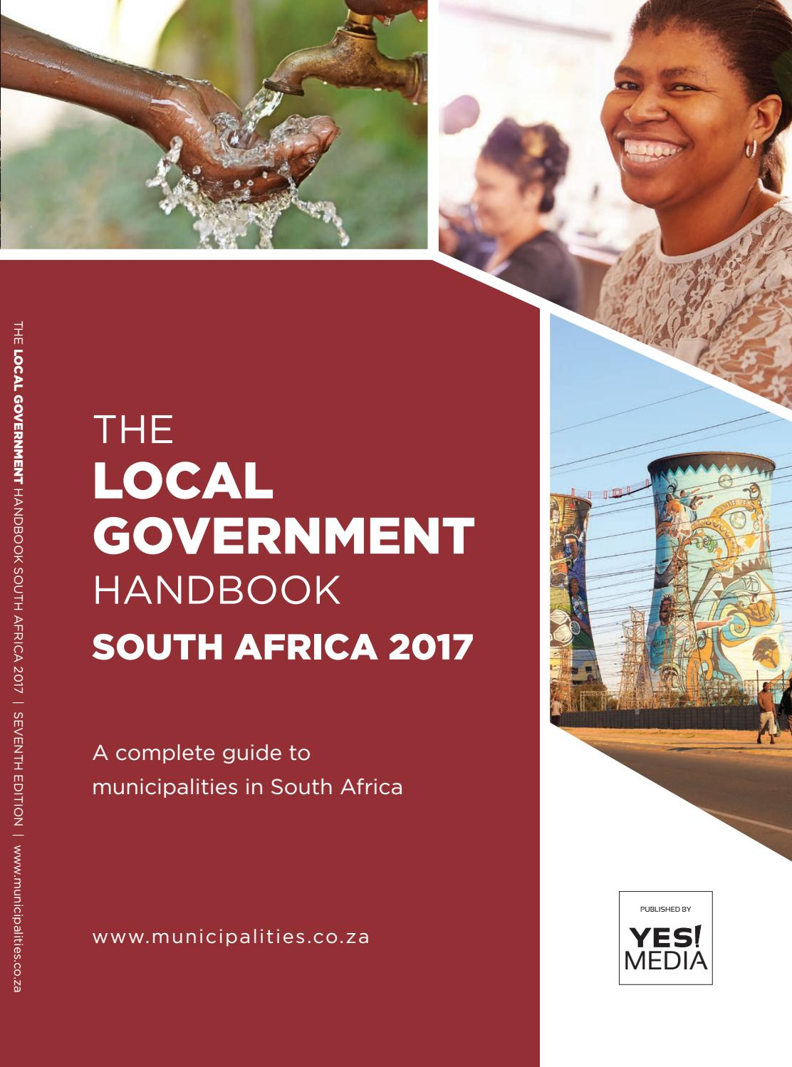 Local Government Handbook - South Africa 2017 by Yes Media