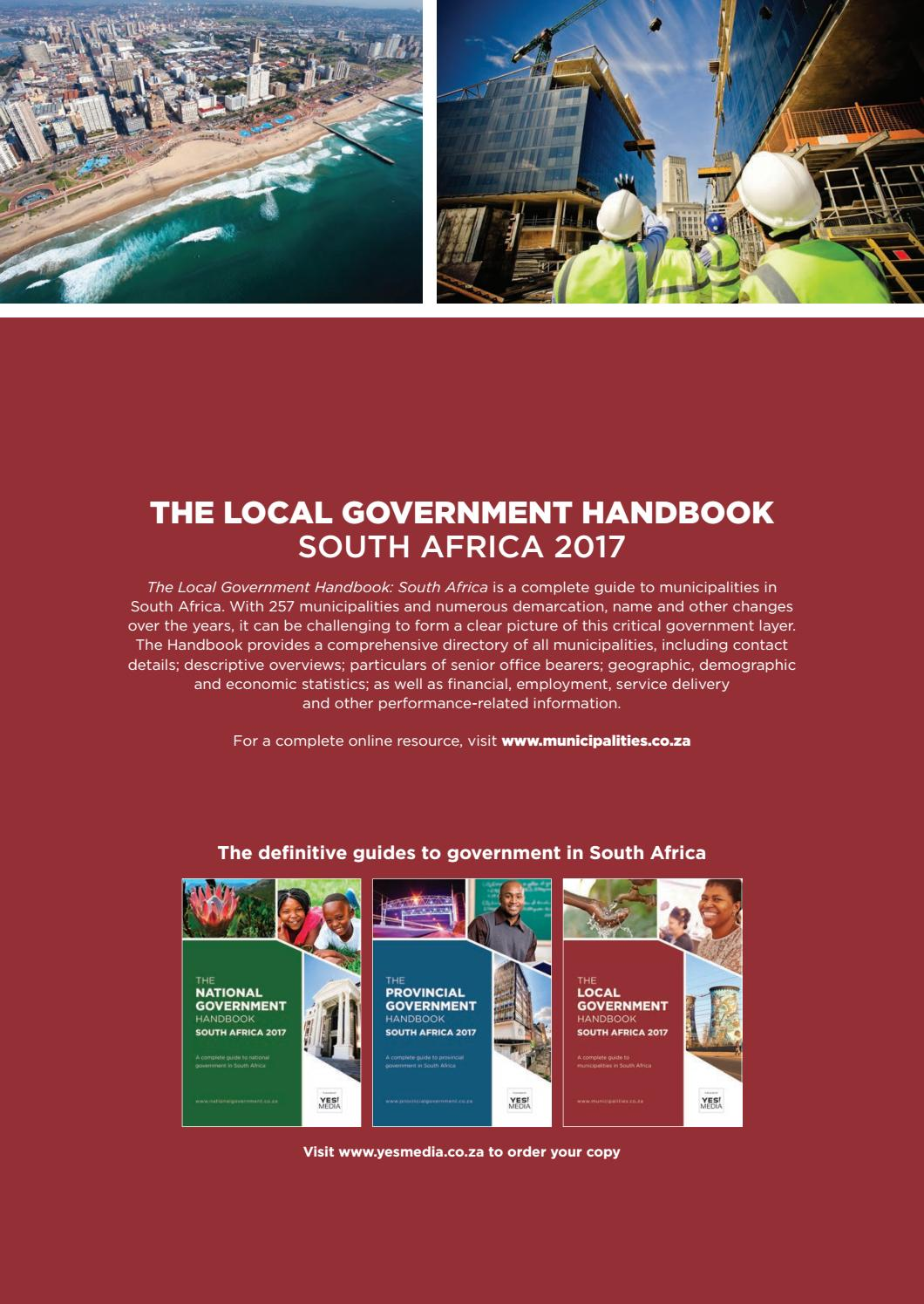 what is local government in south africa