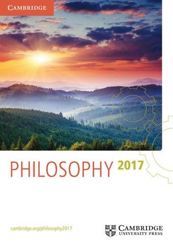Philosophy catalogue 2017 by cambridge university press issuu philosophy cambridgephilosophy2017 fandeluxe Choice Image