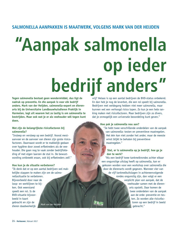 plan van aanpak salmonella Herkauwer 87 by Gezondheidsdienst voor Dieren   issuu plan van aanpak salmonella