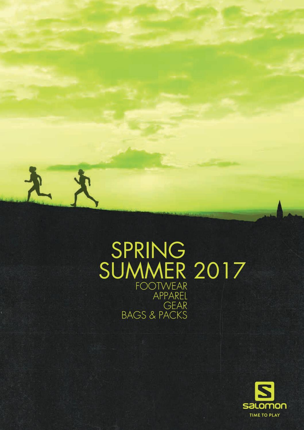 riesige Auswahl an wie man kauft Farben und auffällig Salomon Spring Summer 2017 by MountainBlogIT - issuu
