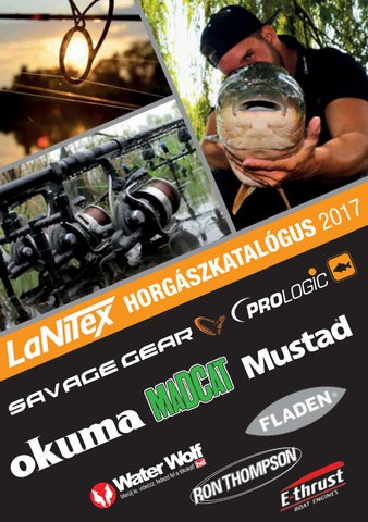 439aa6ab67 LaNiTex 2017 horgászcikk katalógus (magyar) by LaNiTex Kft. - issuu