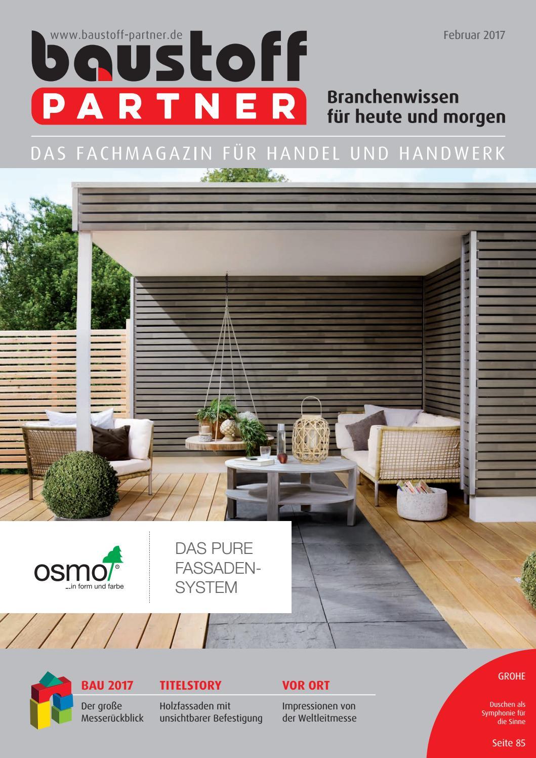 AuBergewohnlich BaustoffPARTNER Februar 2017 By SBM Verlag GmbH   Issuu