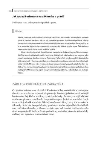 1a90b023a NE)spokojený zákazník - náš cíl?! (Ukázka, strana 99) by Kosmas-CZ ...
