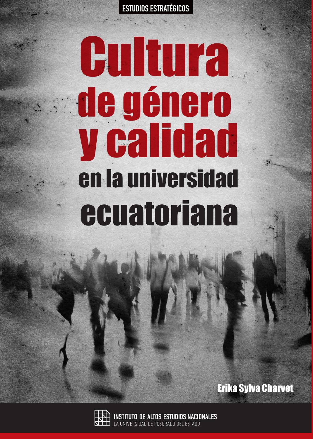 Cultura De Género Y Calidad En La Universidad Ecuatoriana By