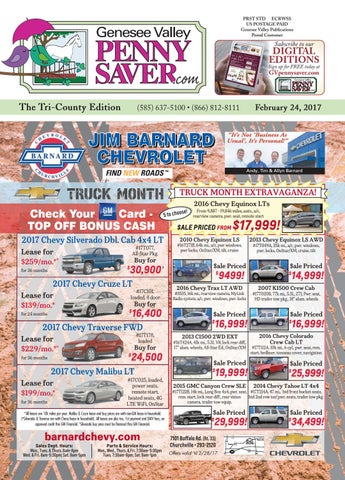 The Genesee Valley Penny Saver Tri County Edition 22417 By