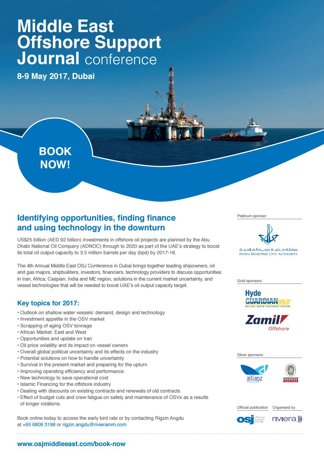 Offshore Support Journal March 2017 by rivieramaritimemedia