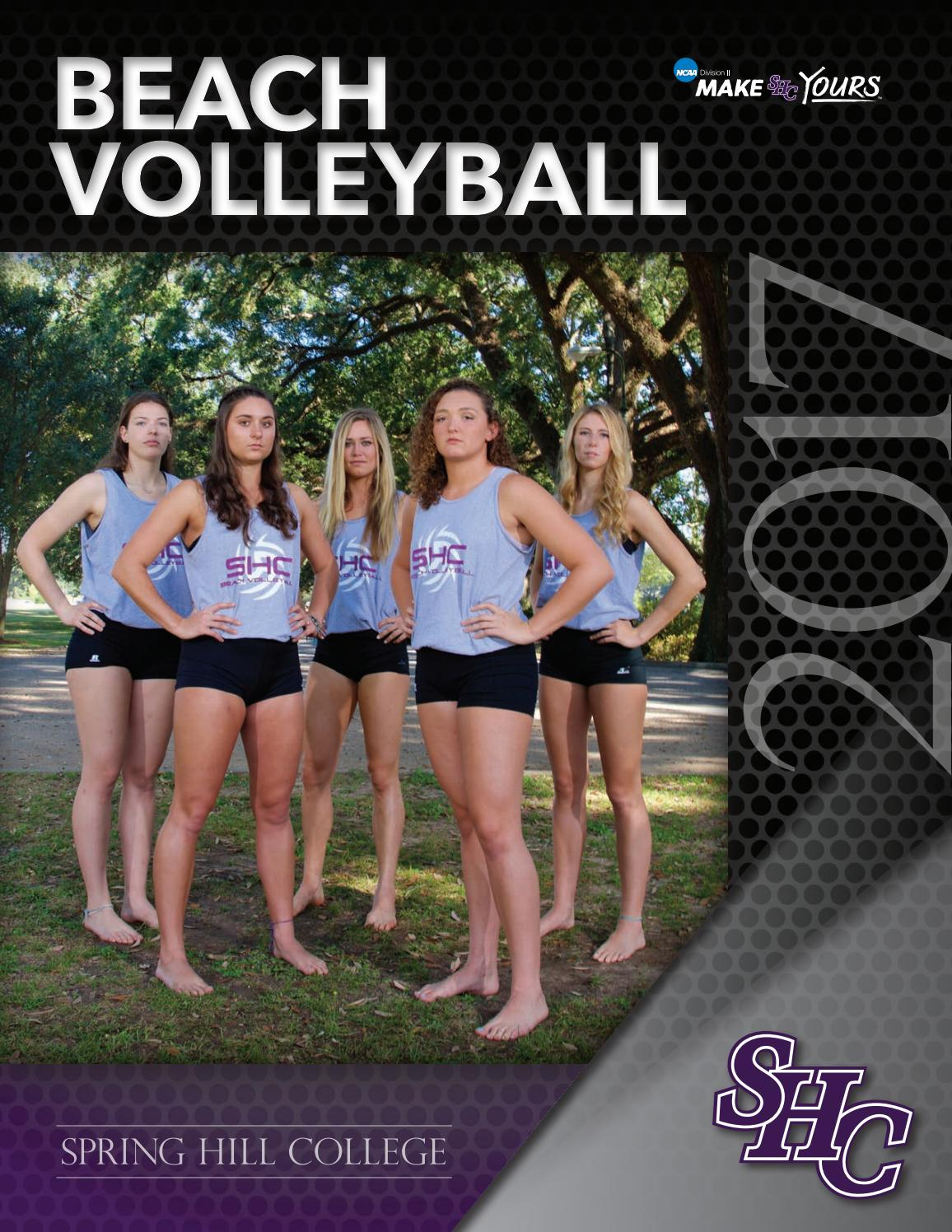 Spring Hill College Beach Volleyball 2017 By Spring Hill College Issuu