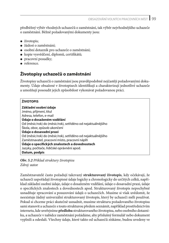 Personalistika Pro Manazery A Personalisty Ukazka Strana 99 By