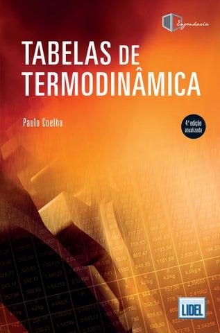 Tabelas De Termodin 226 Mica 4 170 Edi 231 227 O Atualizada By Grupo