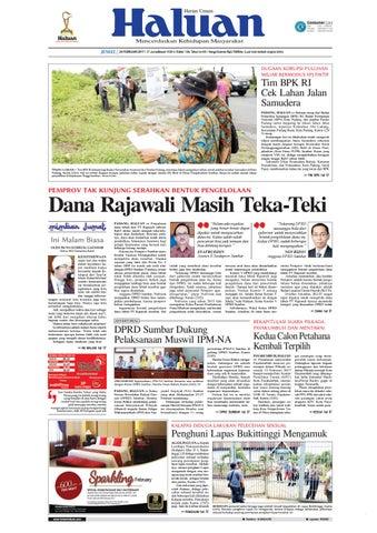 Haluan 24 Februari 2017 by Harian Haluan - issuu 7ceef9d0bc