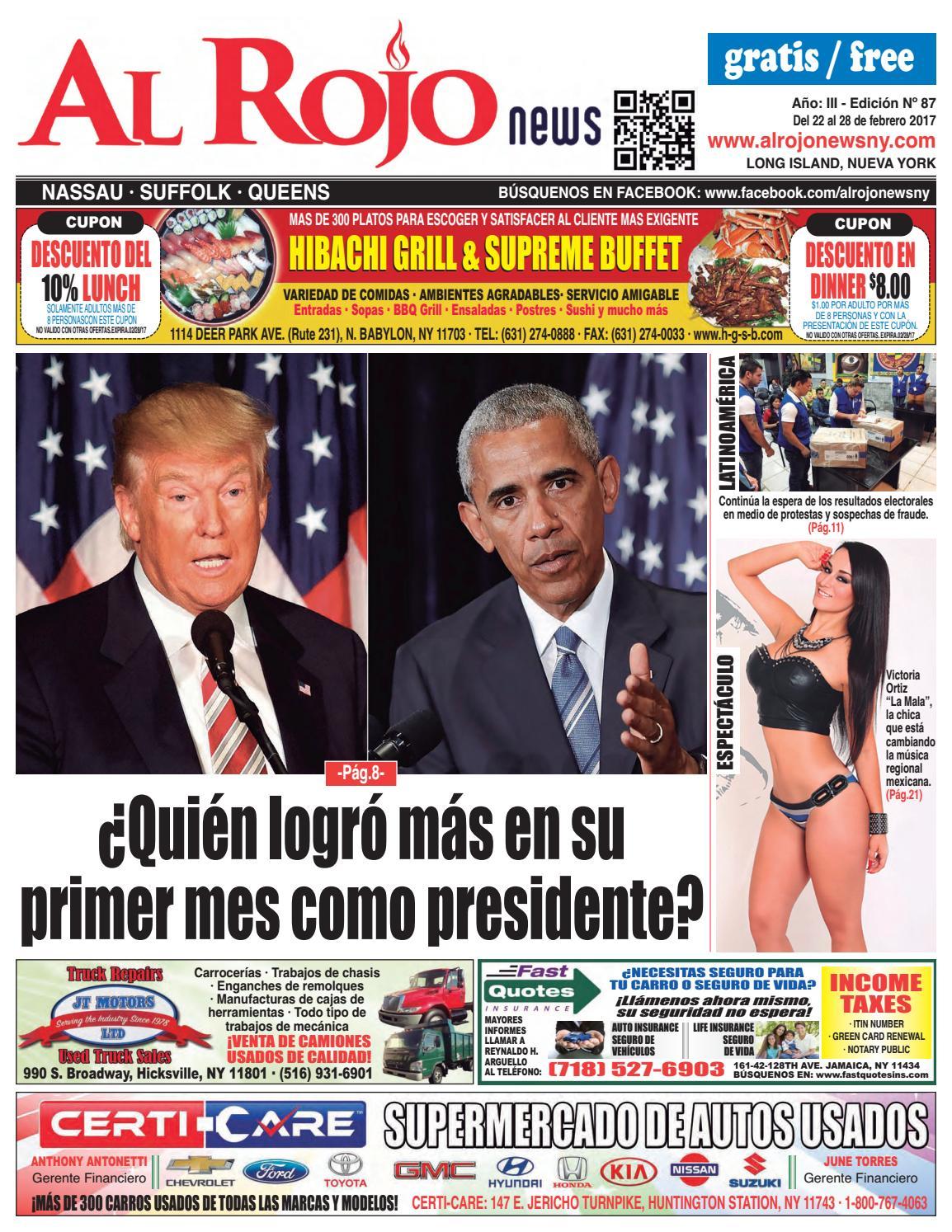 Al Rojo News año III edición 87 by Jose Rivas - issuu
