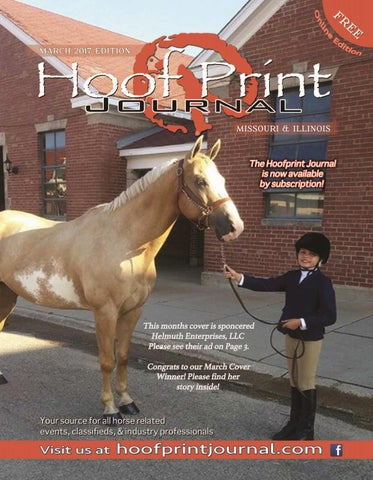 March 2017- The Hoof Print Journal by The Hoof Print Journal