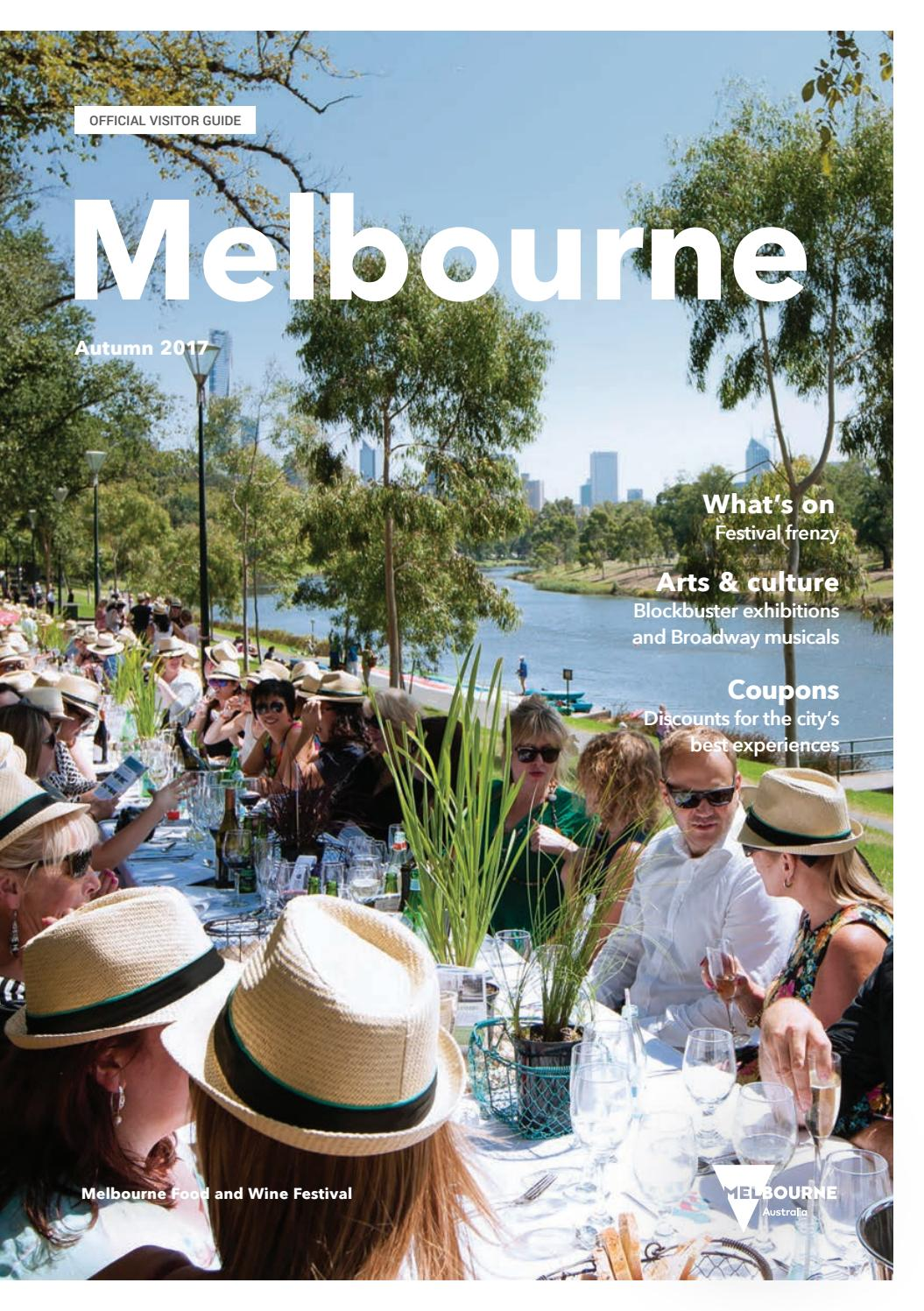Melbourne official visitors guide autumn 2017 by destination melbourne official visitors guide autumn 2017 by destination melbourne issuu fandeluxe Images