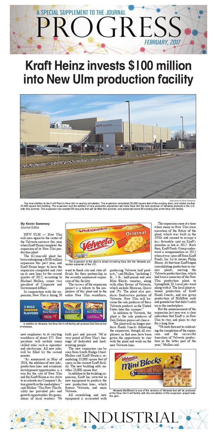 Nu progress industrial by The Journal, New Ulm - issuu