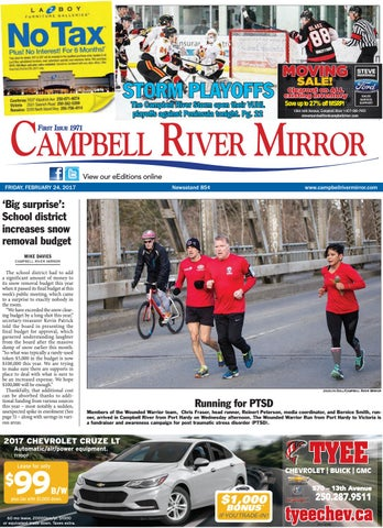 Campbell River Mirror February 24 2017 By Black Press Issuu