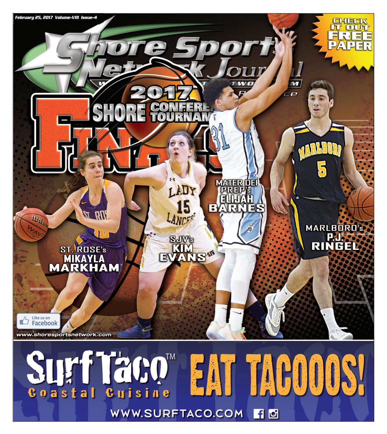 389d4af7e 2-25-17 Issue - 4 Volume IX Shore Sports Network Journal by Shore Sports  Network Journal - issuu