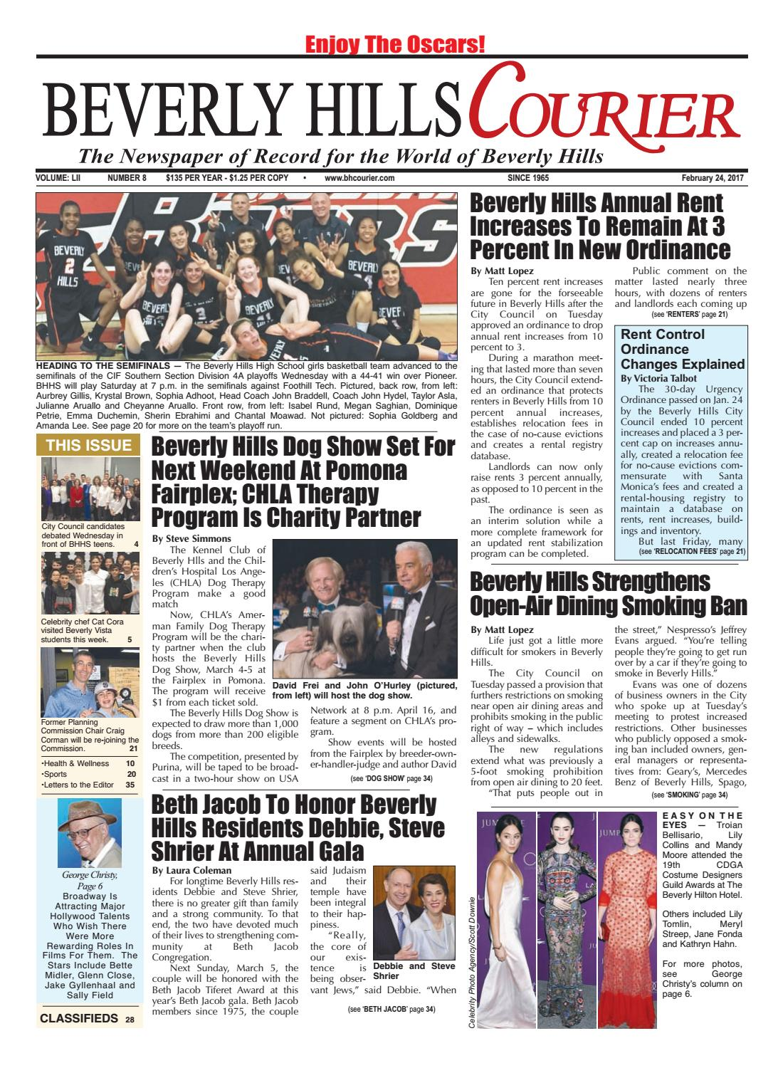 BHCourier E-edition 022417 by The Beverly Hills Courier - issuu