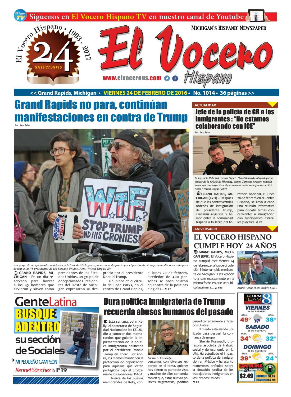 Issue 1014 by El Vocero Hispano - issuu