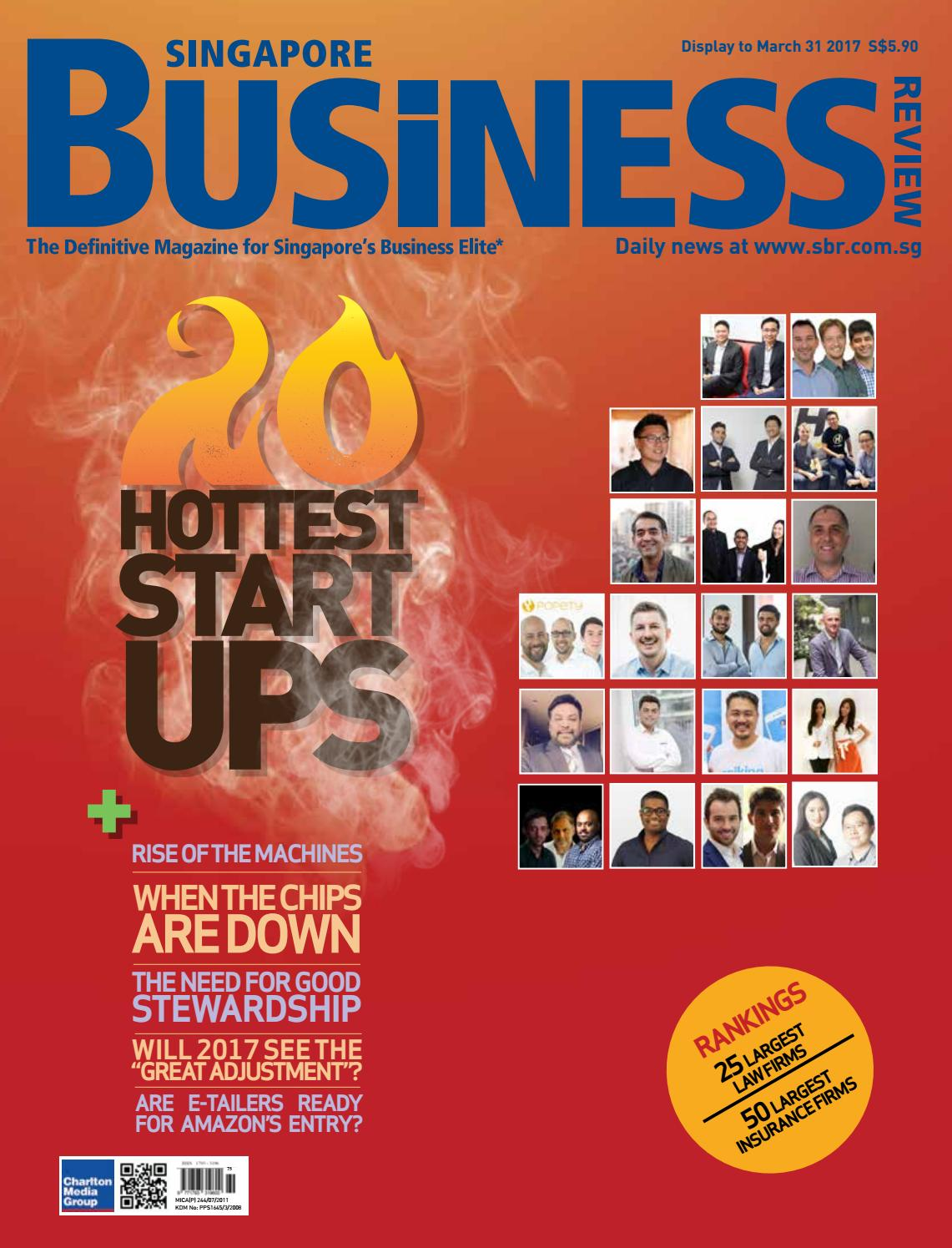 Singapore Business Review (February - March 2017) by