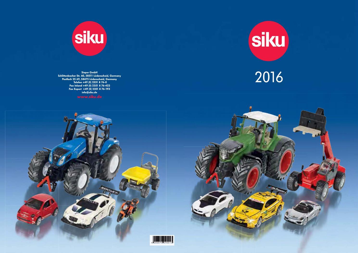Siku. Catálogo 2016 by Daniel Salvadó issuu