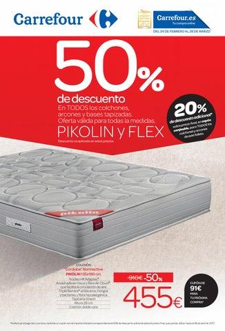 Catálogo Carrefour Colchones By Ofertas Supermercados Issuu