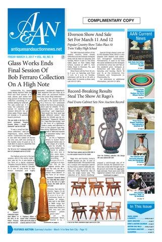 Antiques Auction News 030317 By Antiques Auction News Issuu